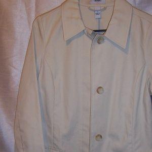 Old Navy Tan Trench Coat/ Rain Coat NWOT